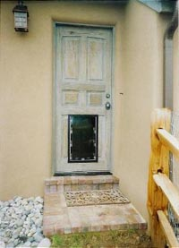 Hale large pet door in door install : albuquerque doors - Pezcame.Com